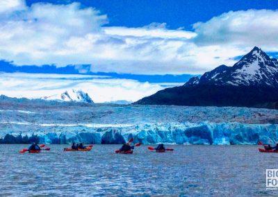 Kayak Glaciar Grey