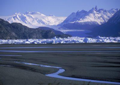 Navegacion Glaciar Grey con Transporte