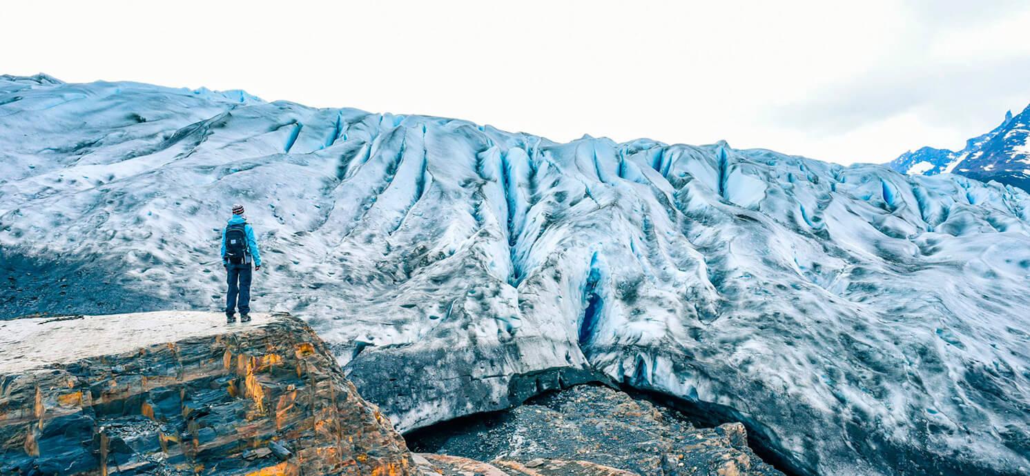 Trekkink en Hielo - Glaciar Grey